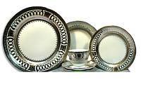 Cтоловый набор посуды 30 предметов-сервиз ELS-627 на 6 персон