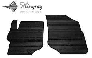 Peugeot 301  2013- Комплект из 2-х ковриков Черный в салон