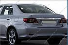 Накладка над номером Toyota Corolla 2010-2012, фото 4