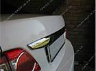 Накладка над номером Toyota Corolla 2010-2012, фото 2