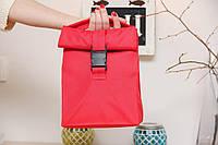 Термо сумка красная lunch bag ua