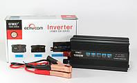Автомобільний інвертор (перетворювач напруги) 12V-220V UKC SSK-1000W