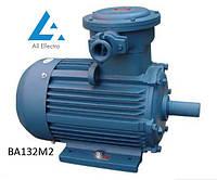 Взрывозащищенный электродвигатель ВА160S2 15кВт 3000об/мин