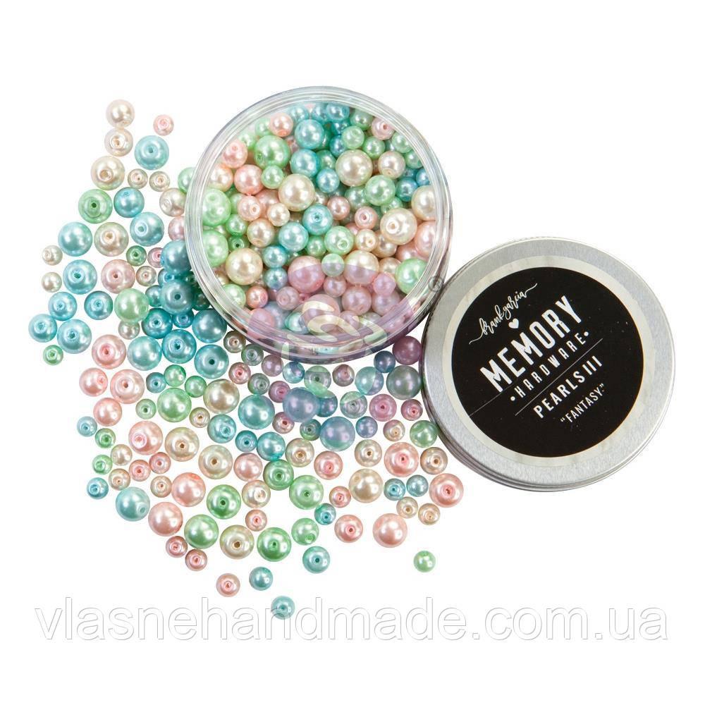 Бусинки - #3 Fantasy - Memory Hardware Glass Pearls - Prima Marketing