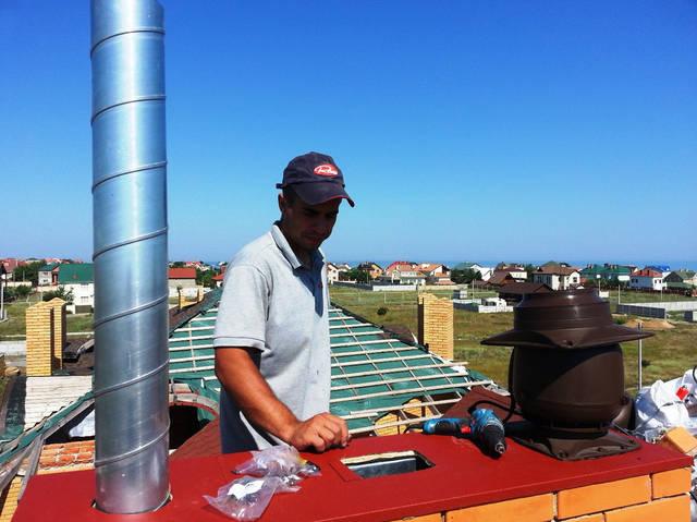 Установка и монтаж гибридных вентиляторов для дома (естественная и механическая вентиляция).
