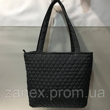 Женская сумка стеганая Ретро (черная), фото 2