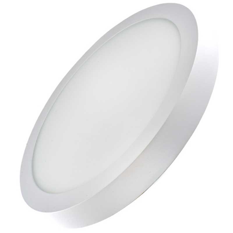 Накладной светодиодный светильник круг 24W 6500К