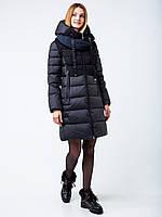 Колекція зима 2020! зимова чорна куртка пуховик clasna cw19d-209acw, фото 1