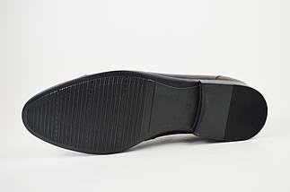 Туфли кожаные мужские бордовые Tapi 6076, фото 3