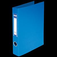Папка на 2-х кільцях А4 BUROMAX, ширина торця 40 мм, синій
