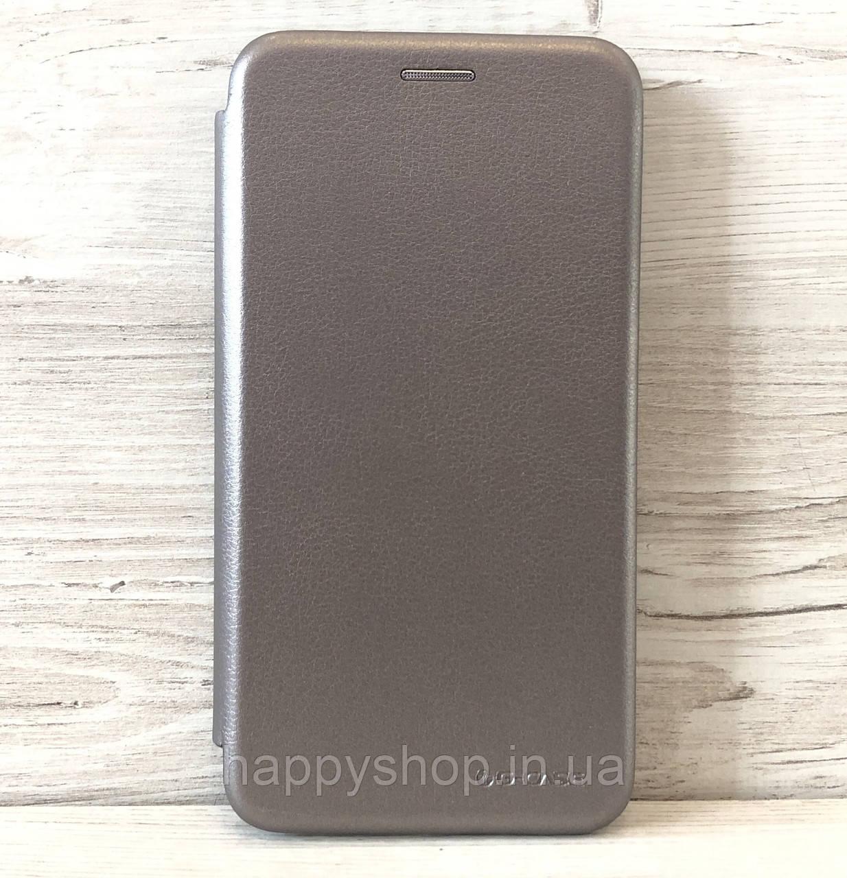 Чехол-книжка G-Case для Samsung Galaxy A8 Plus 2018 (A730) Серый