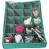 Коробка для трусов с крышкой 20 ячеек ORGANIZE (лазурь), фото 4