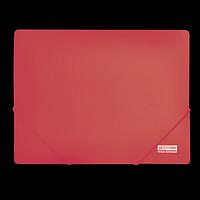 Папка пластикова А4 на гумках, JOBMAX, червоний, фото 1