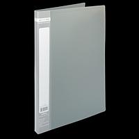 Папка пластикова A4 зі швидкошивачем, JOBMAX, сірий