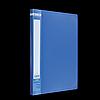 Папка пластикова A4 з боковим притиском JOBMAX, синій