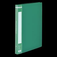 Папка пластикова A4 із швидкошивачем, зелений