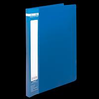 Папка пластикова A4 зі швидкошивачем, JOBMAX, синій
