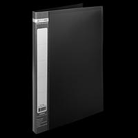 Папка пластикова A4 зі швидкошивачем, JOBMAX, чорний