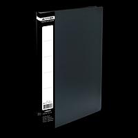 Папка пластикова з 20 файлами А4 JOBMAX, чорний