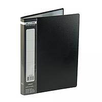 Папка з 10 файлами А5 BUROMAX, чорний