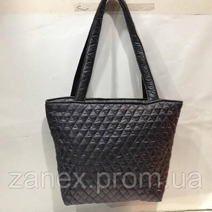 Женская сумка стеганая (серая) Prada, фото 2