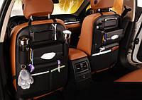 Органайзер на спинку сидения автомобиля из экокожи (1 шт)