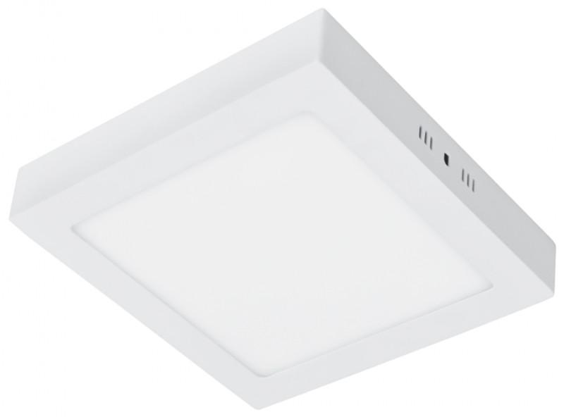 Накладної квадратний світлодіодний світильник 12W 6500К