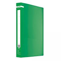 Папка пластикова з 20 файлами А4 JOBMAX, зелений