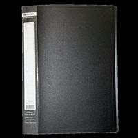 Папка пластикова з 30 файлами А4, чорний