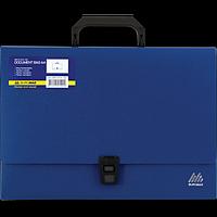 Портфель A4/35мм, JOBMAX, синій