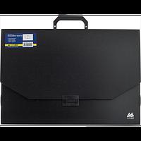 Портфель A3/32мм, PROFESSIONAL, чорний