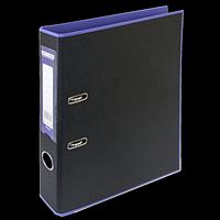 Регистратор BUROMAX, А4, 50 мм, PP, фіолетовий/чорний