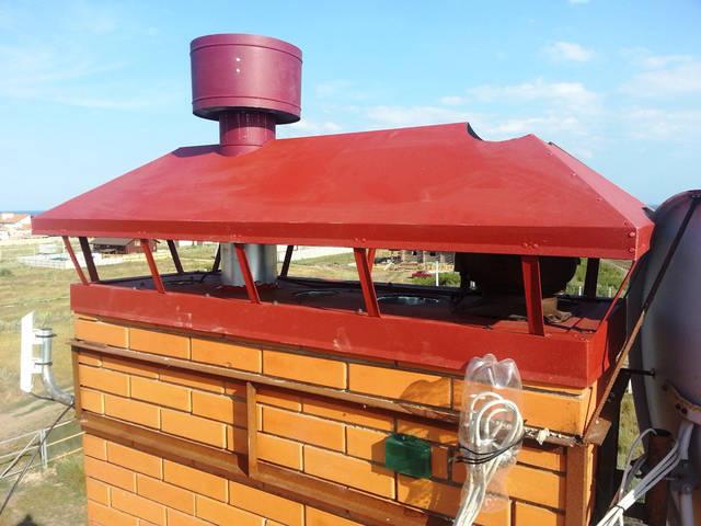 Установка и монтаж дефлектора для топочной и гибридных вентиляционных дефлекторов для вентиляции дома.