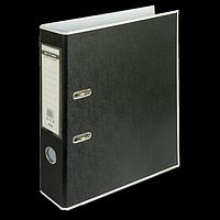 Регистратор BUROMAX, А4, 70 мм, PP, білий/чорний, фото 1