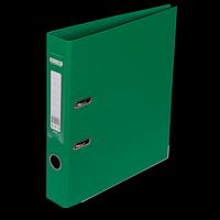 """Реєстратор двосторонній """"ELITE"""" BUROMAX, А4, ширина торця 50 мм, зелений"""