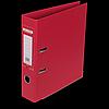 """Реєстратор двосторонній """"ELITE"""" BUROMAX, А4, ширина торця 70 мм, червоний"""