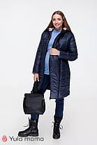Куртка пуховик зимова 2 в 1 зимовий для вагітних і годуючих 44-50, фото 3
