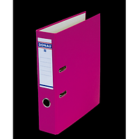 """Реєстратор """"MASTER"""" DONAU А4, ширина торця 50 мм, рожевий"""