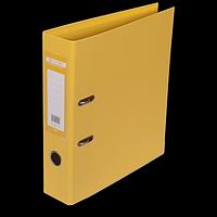 """Реєстратор двосторонній """"ELITE"""" BUROMAX, А4, ширина торця 70 мм, жовтий"""