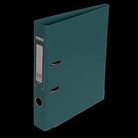 """Реєстратор двосторонній """"ELITE"""" BUROMAX, А4, ширина торця 50 мм, темно-зелений"""