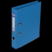 """Реєстратор двосторонній """"ELITE"""" BUROMAX, А4, ширина торця 50 мм, світло-синій"""