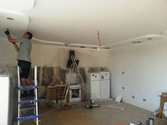 Монтаж вентиляции кухни (готовый ремонт).