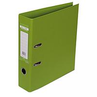 """Реєстратор двосторонній """"ELITE"""" BUROMAX, А4, ширина торця 70 мм, світло-зелений"""