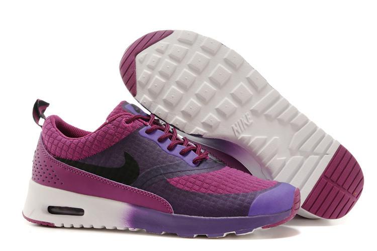 Кроссовки Nike Thea Print в фиолетовом цвете