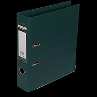 """Реєстратор двосторонній """"ELITE"""" BUROMAX, А4, ширина торця 70 мм, темно-зелений"""