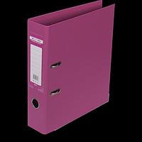 """Реєстратор двосторонній """"ELITE"""" BUROMAX, А4, ширина торця 70 мм, рожевий"""