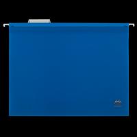 Підвісний файл А4, пластиковий, синій