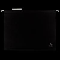 Підвісний файл А4, пластиковий, чорний