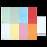 Індекс-розділювач 105х230 мм, 100шт., картон, асорті