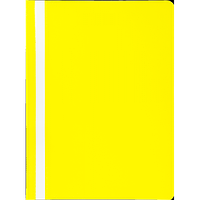 Швидкозшивач пласт. А4, PP, JOBMAX, жовтий